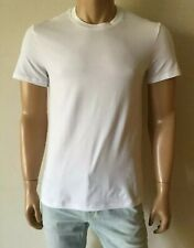 DOLCE & GABBANA Stretch Cotton Men's White T-Shirt IT 4 / US S
