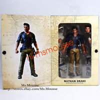 """NECA Nathan Drake Uncharted 4  7"""" Action Figure Ultimate Movie Collection New"""