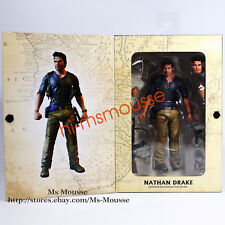 "NECA Nathan Drake Uncharted 4  7"" Action Figure Ultimate Movie Collection New"