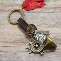 Engrave Key Ring Ornament Keyfob Pendant Gift Exquisite Belt Hanging Ornament