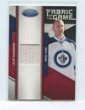 ERIC FEHR 2011-12 Panini Certified Fabric of the Game  Game-Used Jersey #D /399