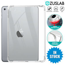 """For Apple iPad 8th Gen 2020 10.2"""" Clear Slim Soft Protective Shockproof Case"""