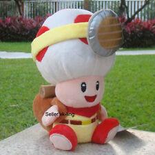 """Super Mario Bros Peluche Juguete Animal de Peluche Lindo Captain Toad Colección Muñeca 7"""""""