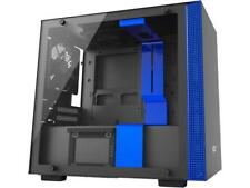 NZXT H200i ITX Tower Chassis Black/Blue Version with 2x120mm, Smart device, 1 LE
