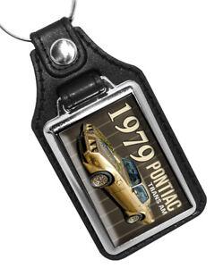 1979 Pontiac Firebird Trans Am  Gold Edition Muscle Car T-Tops Design Key Ring