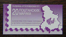 Yugoslavia 1997 A Red x 20 in Booklet MNH