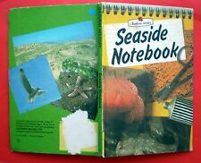 Seaside Notebook Ladybird vintage book 536 nature birds crabs whelk sand FE