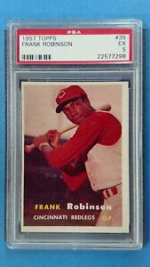 1957 Topps FRANK ROBINSON #35 PSA 5 EX Cincinnati Redlegs ~SC03-298