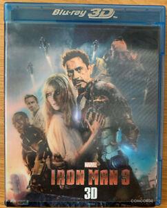 Iron Man 3 - 3D - Blu Ray