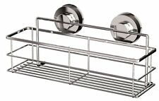 Non Rust STRONG Suction Stainless Steel Bathroom Shower Caddy Organiser Shelf