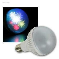 E27 Party Birne 7x RGB LED bunt Disko Effekt Farbwechsel Disco Leuchtmittel Spot