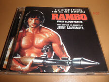RAMBO First Blood part II soundtrack CD score JERRY GOLDSMITH Sylvester Stallone