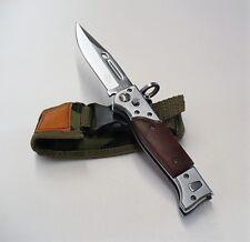 KNIFE AK-47 COLTELLO 23CM. CON APERTURA LATERALE LAMA CLASSICA SURVIVAL RUSSIA A