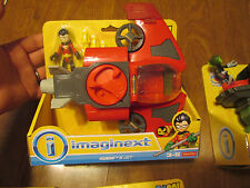 IMAGINEXT TEEN TITANS GO ! ROBIN & JET 2017 SET FISHER PRICE NEW HARD TO FIND
