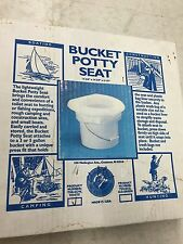 Todd Enterprises 5 GAL White Bucket Potty 8002-01W NEW!!!