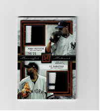 2020 Topps Museum Collection Dual Patch Relic/35....Sabathia & Pettitte  Yankees