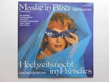 Schallplatte  ST33 Fred Raymond Maske in Blau