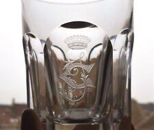 Baccarat gobelet cristal modèle Harcourt couronne Marquis - 20837