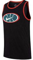Men's Nike Sportswear Cotton Blend Basketball Graphic Logo Tank Top Tee Jersey