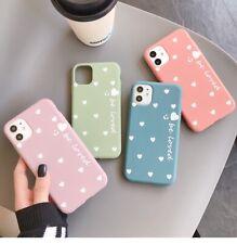 Funda para iPhone 11 Pro XS Max SE 7 8 Plus X Xr Lindo Amor Corazón TPU Blando Cubierta