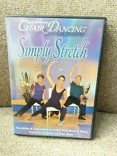 Jodi Stolove'S Chair Dancing Fitness, Simply Stretch From Comfort Of Chair Used