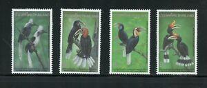 A123 Thailand 1996 birds hornbills 4v. MNH