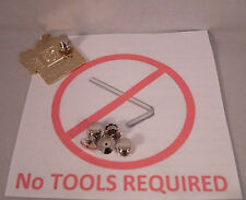 25 Locking Pin Backs Disney - Lapel Pins NO TOOLS REQUIRED Easy Secure & Quality