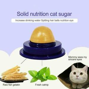 Healthy Cat Snacks Catnip Sugar Candy Licking - Nutrition Ball Toy En