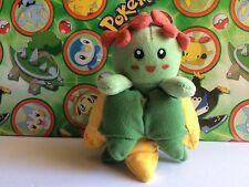 Pokemon Plush Bellossom Hasbro 1998 doll figure stuffed Bean bag toy Vintage