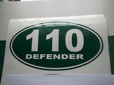 Land Rover DEFENDER Sticker set Vinyl Decal  130 90 110.    x 2 ovals