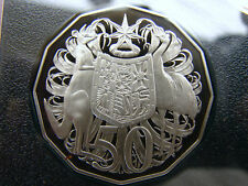 1997 50 cent proof coin.Only 32,543 made! Brilliant coin in 2 x 2 holder. RARE!