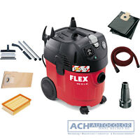 Flex Aspiration Industrielle Vide Vce 35 L AC + Kit Neuf