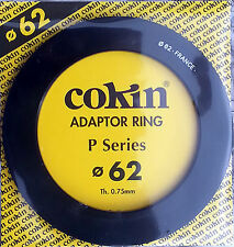 Cokin Genuine 62mm P Adaptor Ring To Fit P Series Holder Also Fits Kood Holder