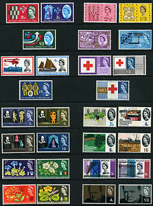 1962-1967 All QE2 PHOSPHOR SETS in one listing PICK SETS U WANT & ADD TO BASKET