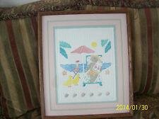 """Jane Billman Wonderful Watercolor """"Sea Breeze"""" Embossed On Rag Fine Art Paper"""