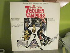 the LEGEND OF THE 7 GOLDEN VAMPIRES LP SOUND TRACK RECORD KUNG FU HORROR CLASSIC