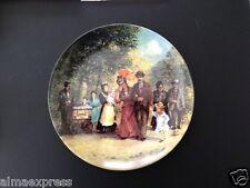 "Nitschke ""Monday"" Berlin Design Kaiser Porcelain 1894 Collector Plate Montag"