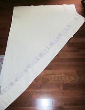 Vintage Richmark Ivory & Lace Curtains With Valance Ret $49.95.