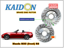 "Mazda MX5 disc rotor KAIDON (front) type ""RS"" spec"