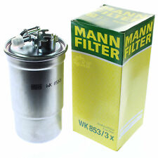 Original MANN-FILTER Kraftstofffilter WK 853/3 x Fuel Filter