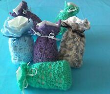 Petit sac de lavande réalisé au crochet