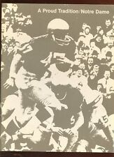 1967 Notre Dame Football A Proud Tradition NRMT