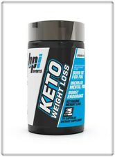 BPI Sports Keto Weight Loss 75 Caps Burn Fat For Fuel, Increase Mental Focus