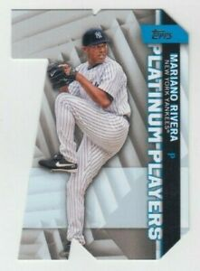 Mariano Rivera 2021 TOPPS SERIES 1 PLATINUM PLAYERS DIE CUT #PDC-16 YANKEES
