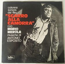 Antonio Esposito ‎– Sgarro Alla Camorra OST Lp 1° Issue Gimmick Cover NM/EX+++