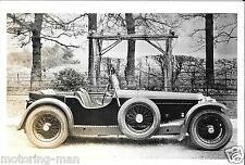 INVICTA LOW CHASSIS S C H DAVIS BROOKLANDS 1930S PHOTOGRAPH