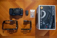 Blackmagic Pocket Cinema Camera 4K + SmallRig Full Cage and Half Cage *LIKE NEW*