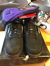 New Air Jordan Retro 5 Grape, Size 10.5