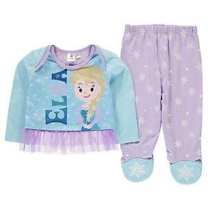 Elsa Congelati Disney 2tlg. Set Vestito/Maglia + Pantaloni Tgl 62-92 Ragazza