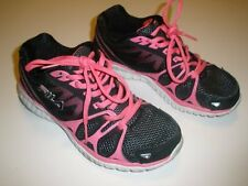Womens Size 6M 6 Medium Fila Cool Max Light Weight Pink Black Athletic Shoes